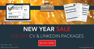 New Year Sale - 20% OFF CV & LinkedIn Packages