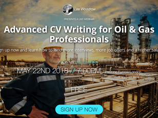 Advanced CV Writing for Oil & Gas Professionals FREE Webinar Replay