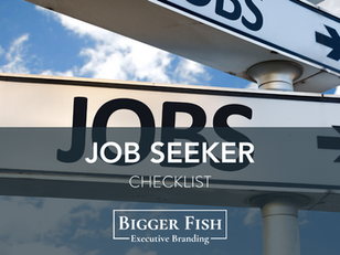 Job Seeker Checklist
