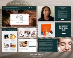 House of Hammonds - E-Commerce Website b