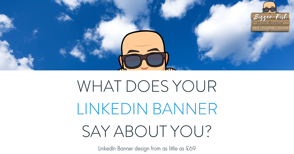 What does your linkedin banner say about you?