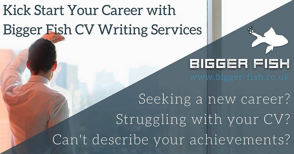 Kick Start Your Career with Bigger Fish CV Writing Services