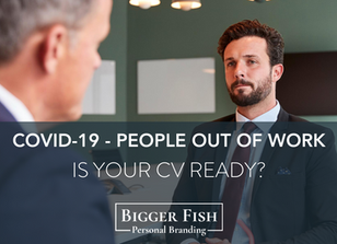 How COVID-19 Is Leaving People Out Of Work. Is Your CV Ready?