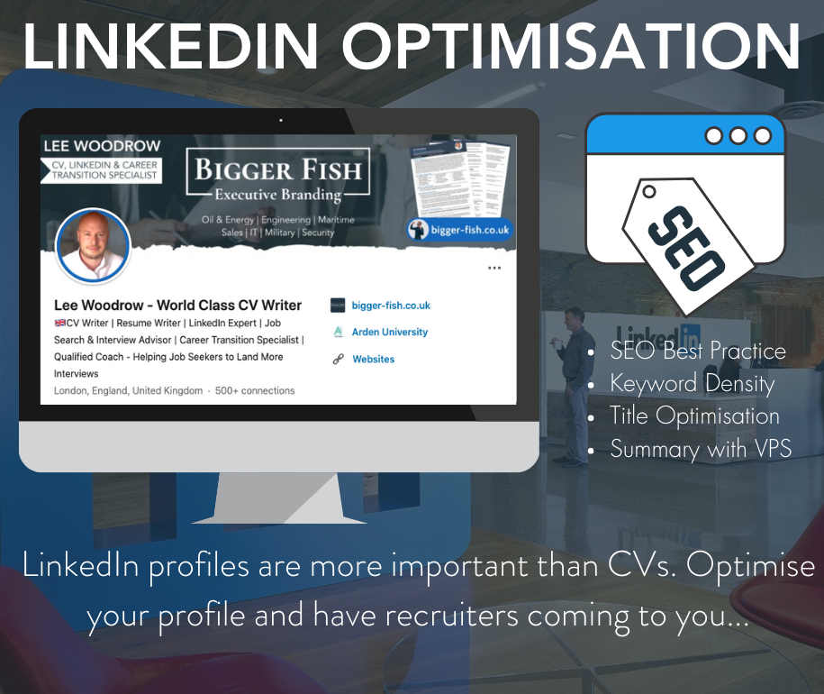 Bigger Fish - LinkedIn Optimisation