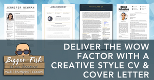 Deliver the WOW Factor With a Creative Style CV & Cover Letter