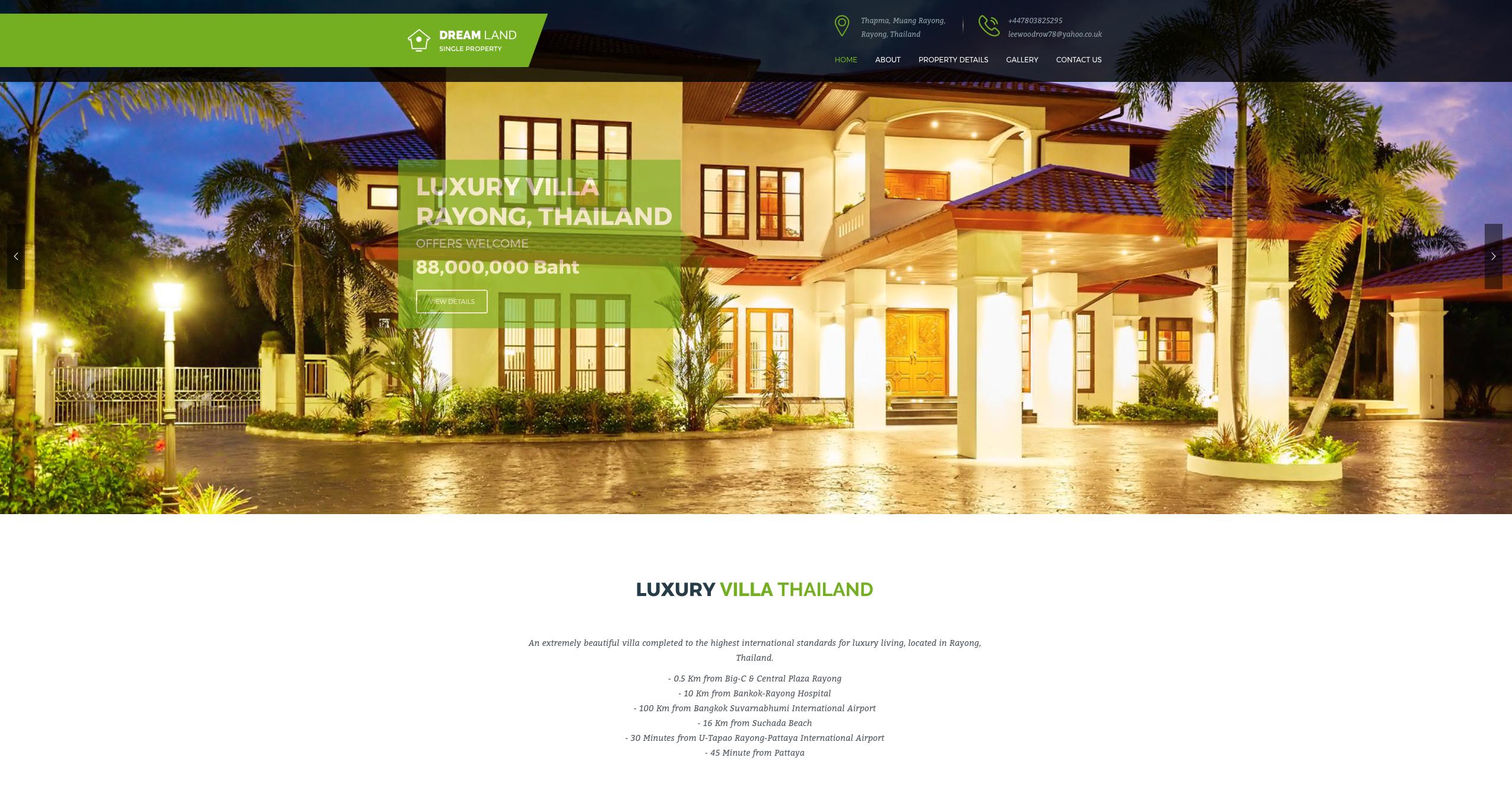 Luxury Villa Thailand