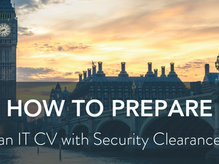 How to Prepare an IT CV with Security Clearance (SC)