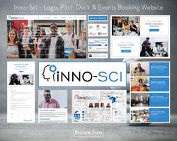 Inno-Sci - Logo, Pitch Deck & Events Boo