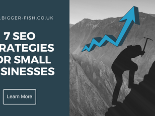 7 SEO Strategies for Small Businesses