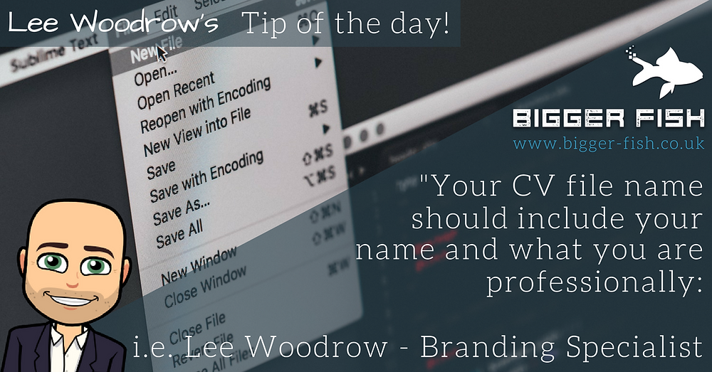 Lee Woodrow's Tip of the Day - 12th January 2