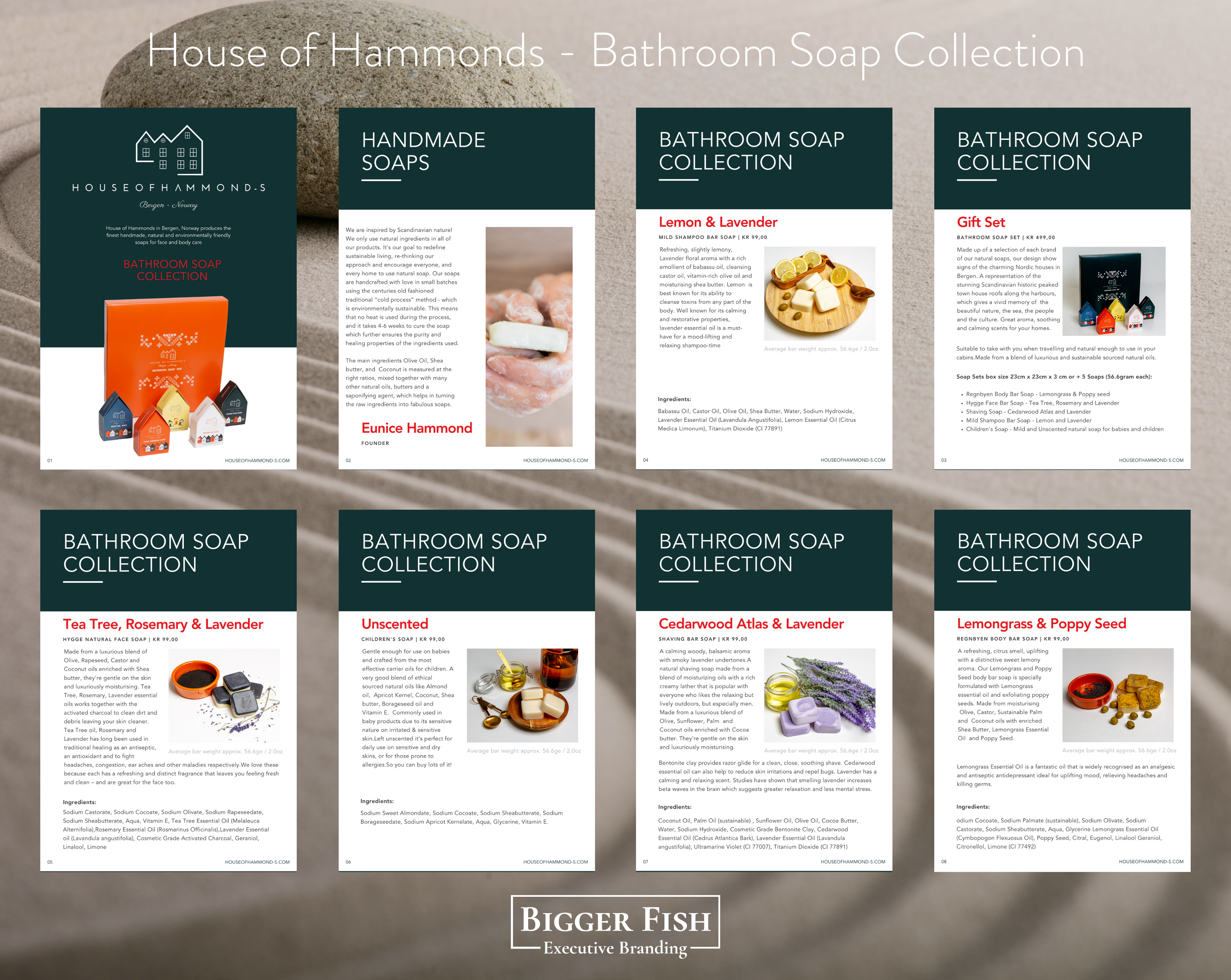 House of Hammonds - Bathroom Soap Collec