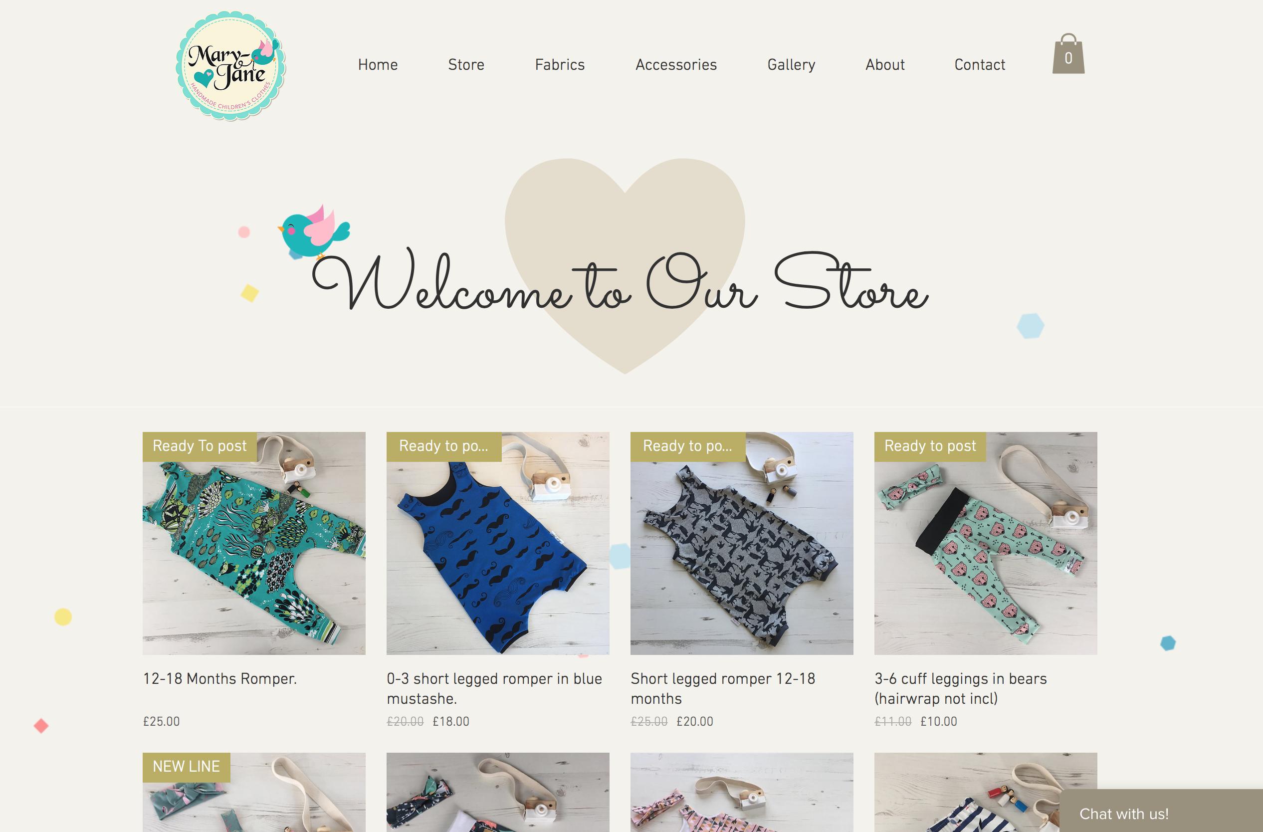 Mary-Jane Clothing Store