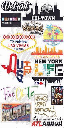 Reppin' My City Graphics Set