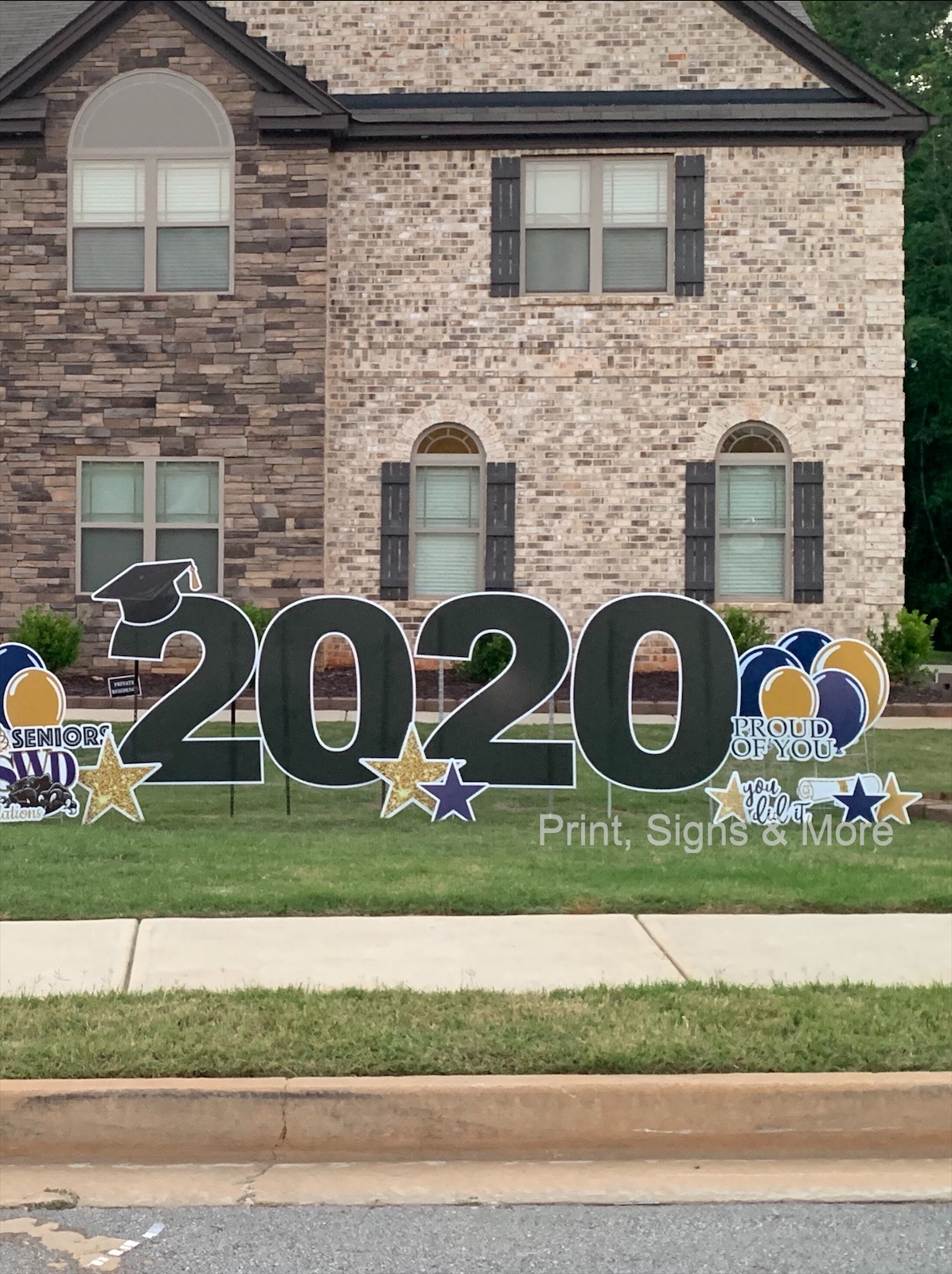 mega (large) 2020 yard sign display