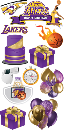 [Digital Download] LA Lakers Birthday Flash