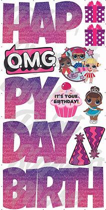 LOL Dolls Birthday Set