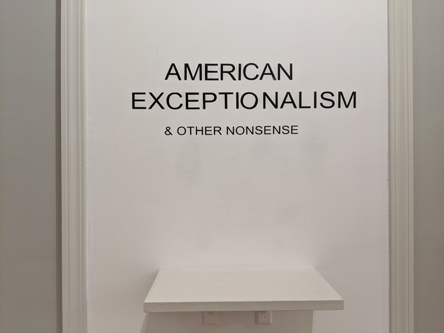 American Exceptionalism & Other Nonsense Exhibition