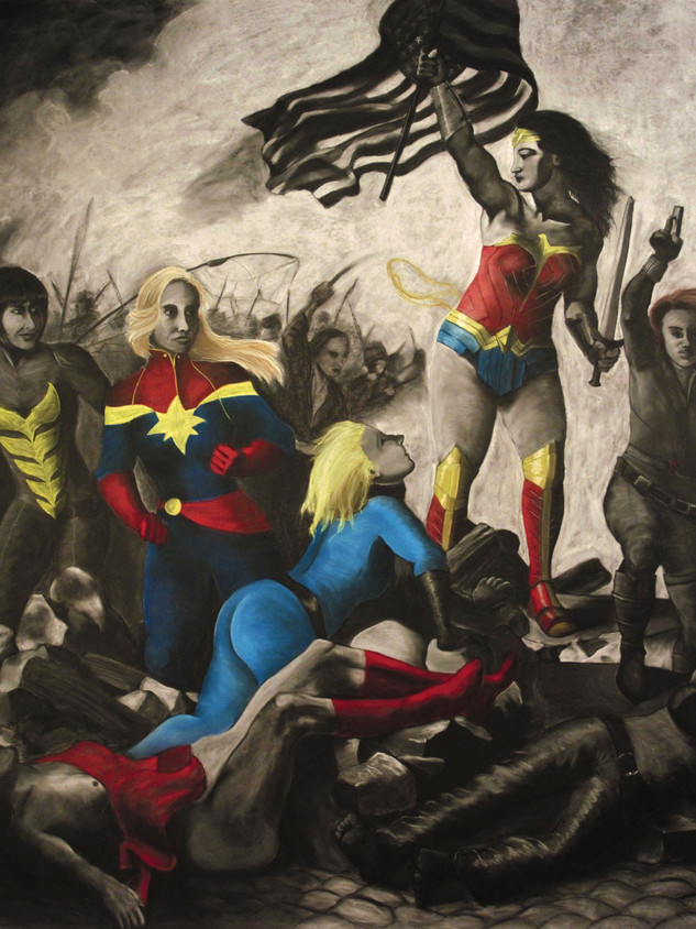 Wonder Woman Leading the People