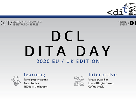 DCL DITA Day - EU / UK Edition