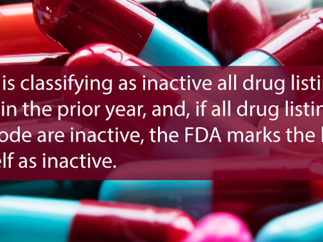 The Implications of FDA Drug Listing Requirements