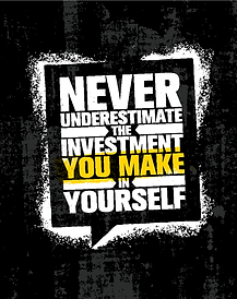 Milton Collier Invest In Yourself