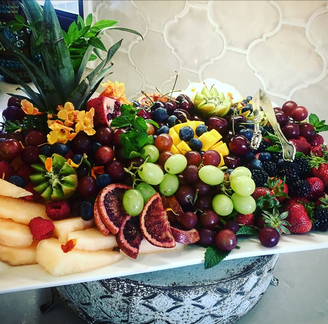 Seasonal Fruit Plate,
