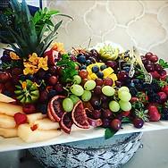 Seasonal Fruit Plate.