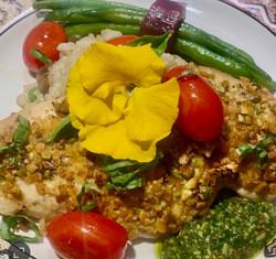 Pistachio Chicken.