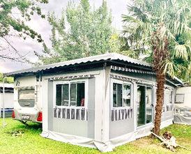 Veranda panoramica | real camp | la casa del campeggio