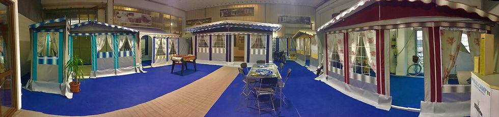 Showroom interno Real Camp