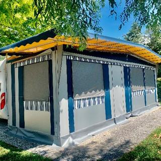 Veranda rigida | real camp | la casa del campeggio