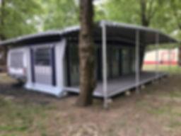 copertura tre teli Real Camp