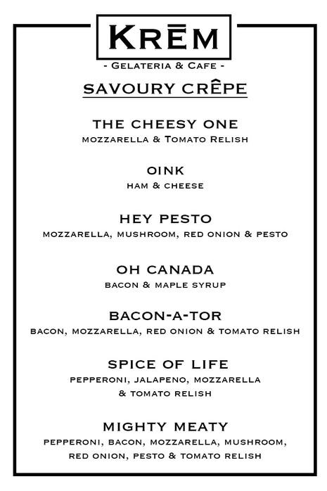 Savoury Crepe
