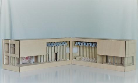 Maqueta Arquitectonica Salon de Actos CO