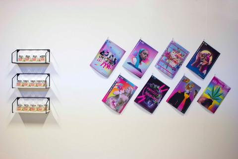 Shawnee Tekii, 2019. Paste up Project Interactive Wall [Installation, size unknown].