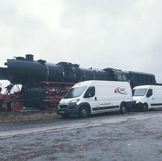Trein onderdelen logistiek door MJT Logistics