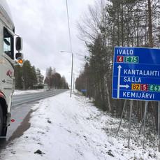 Rit Artic Circle, grens Rusland
