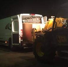 Buizen transport per koeriersdienst MJT Logistics