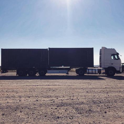 Container vervoer in Engeland MJT Logistics