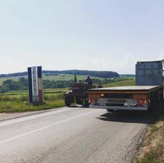 Open transport naar Roemenië