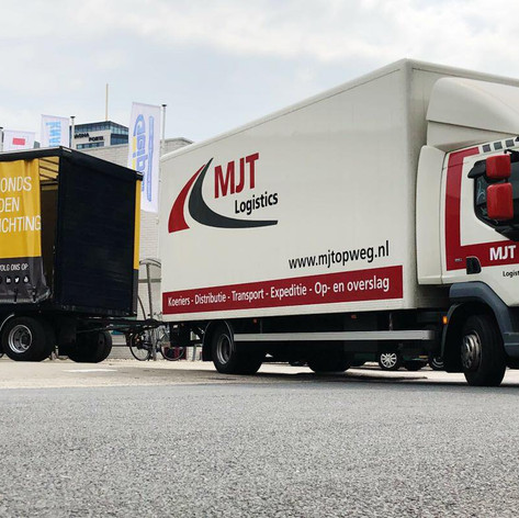 Distributie bouwmaterialen MJT Logistics
