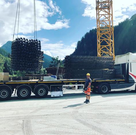 Brugdelen leveren in Oostenrijk door MJT Logistics