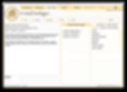 """Ansicht """"E-Mail Vorlagen"""" Bildschirmeingabemaske zum Verwalten der E-Mail Vorlagen, Definition von E-Mail Verteiler"""