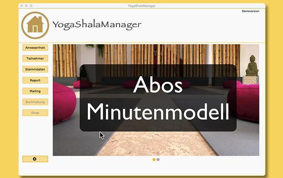 Dieses Video zeigt dir die Funktionen und das einrichten von Abos im Minutenmodell
