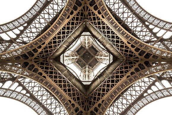 Torre Eiffel Sépia, Paris- França