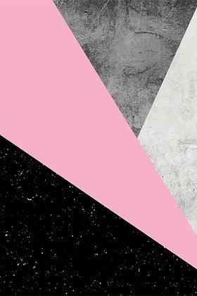 Geometric Pink II