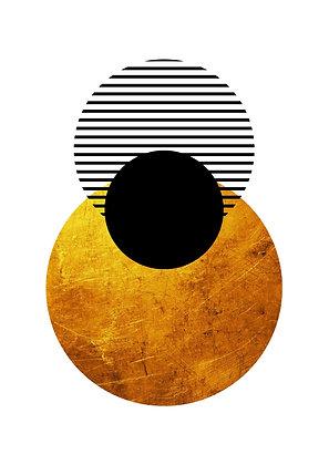 Esfera dourada II