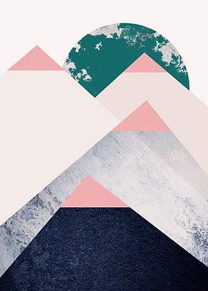 Geometric Mountain II