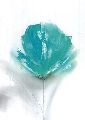 Turquoise Flower II
