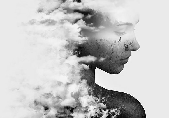 Cloud and Woman